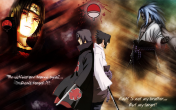 sasuke and itachi wallpaper #2
