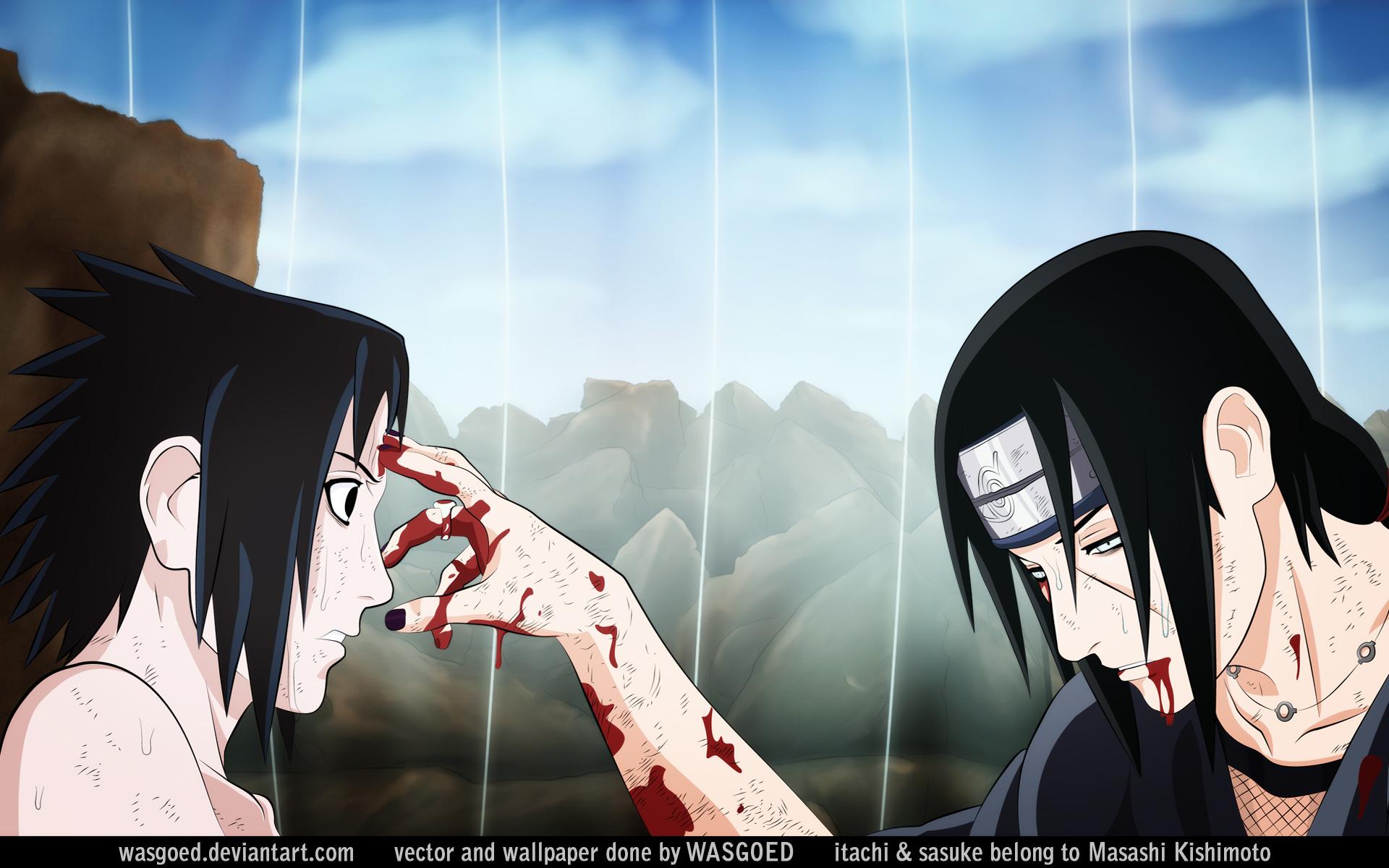 Sasuke and Itachi Wallpapers - WallpaperSafari