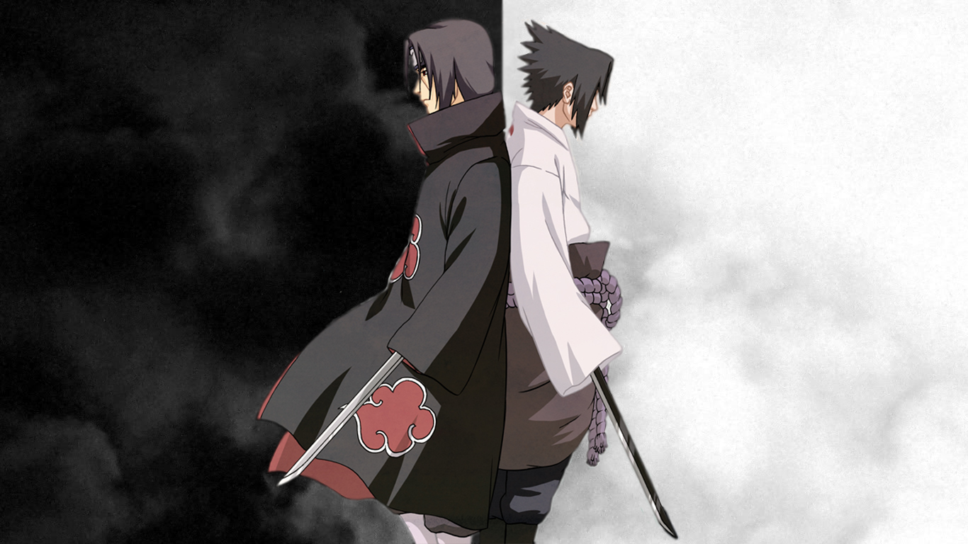 Itachi and Sasuke Wallpaper - WallpaperSafari