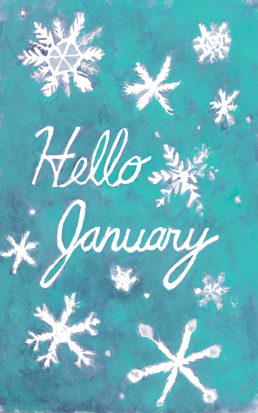 Heather Powers Art: Hello January Wallpapers
