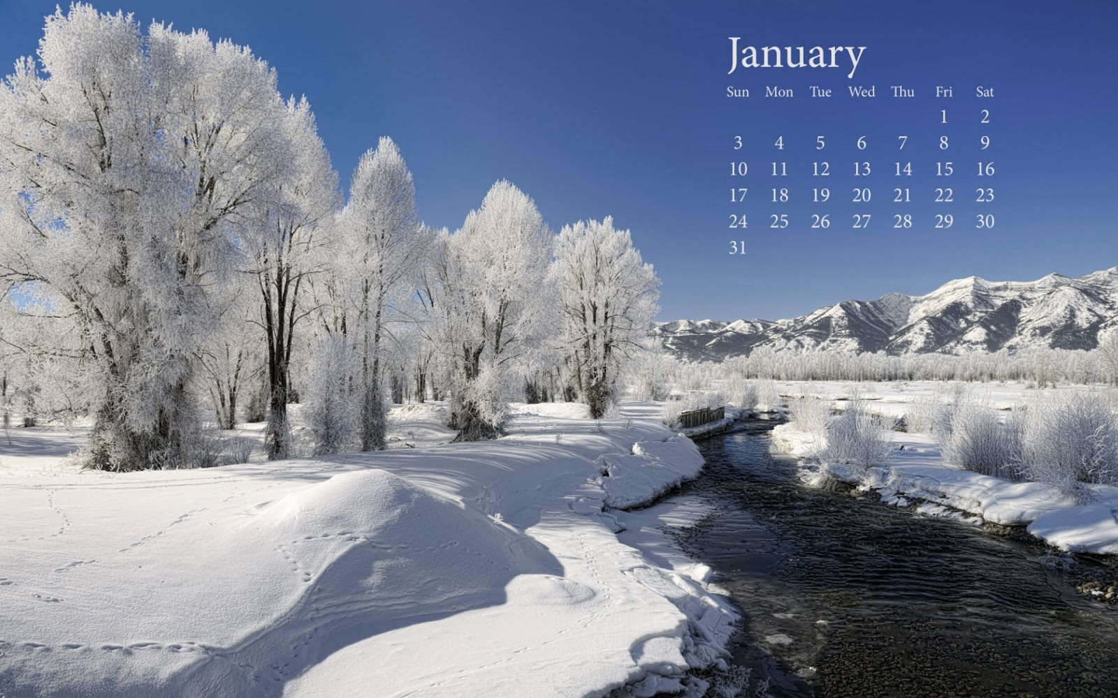 January Wallpapers High Quality | Download Free