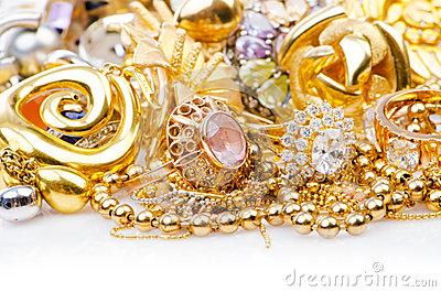 Gold Jewellery Wallpaper - Kenetiks com