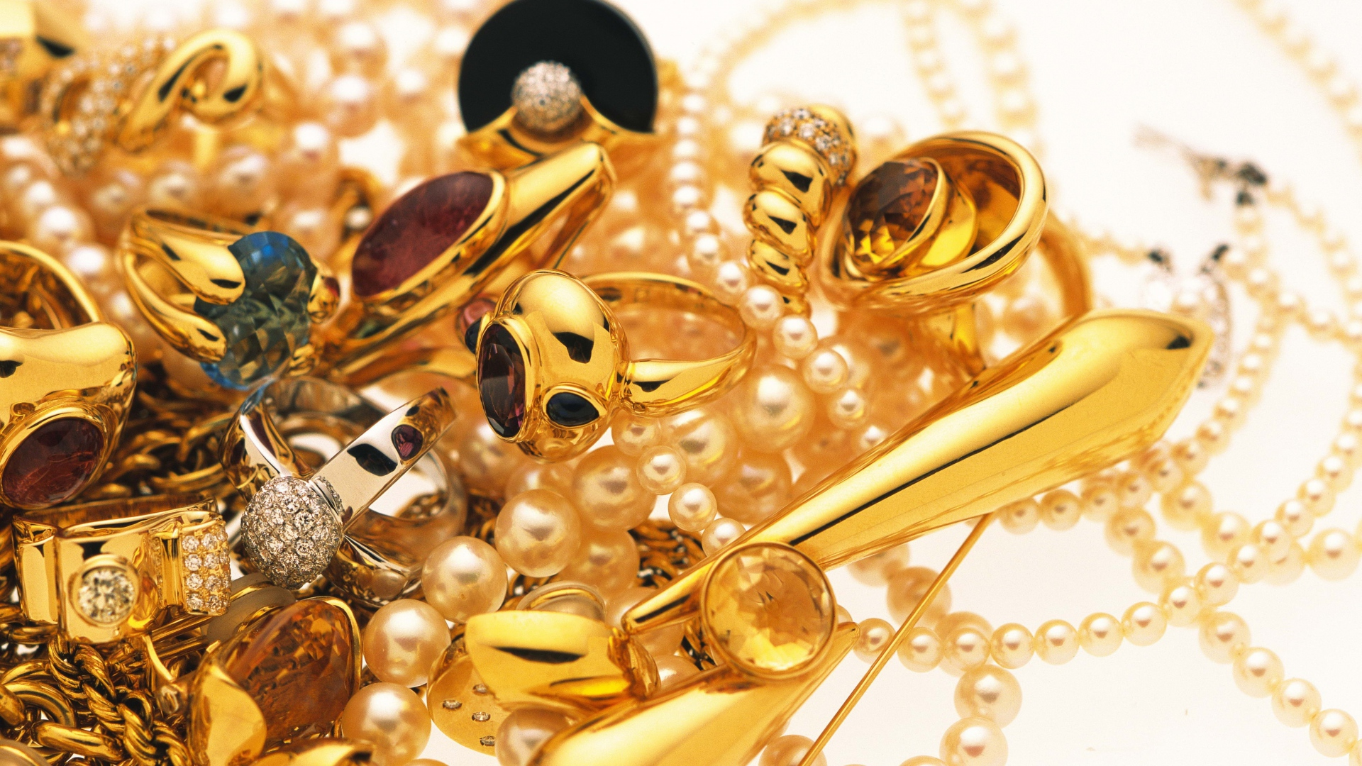 Gold Jewellery HD Wallpapers - THIS Wallpaper
