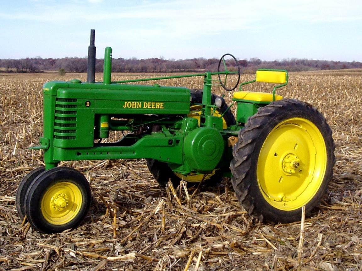 John Deere Tractor Wallpaper - WallpaperSafari