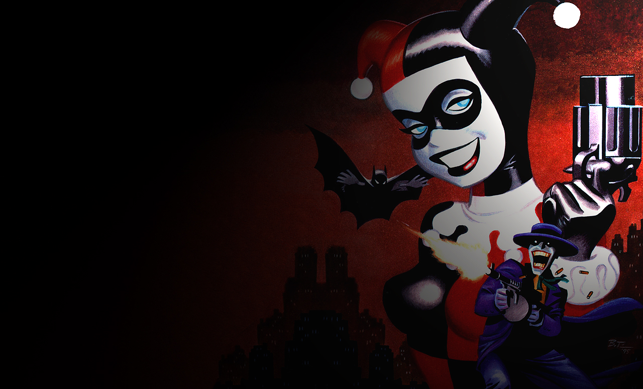 Joker Harley Quinn Wallpaper - WallpaperSafari