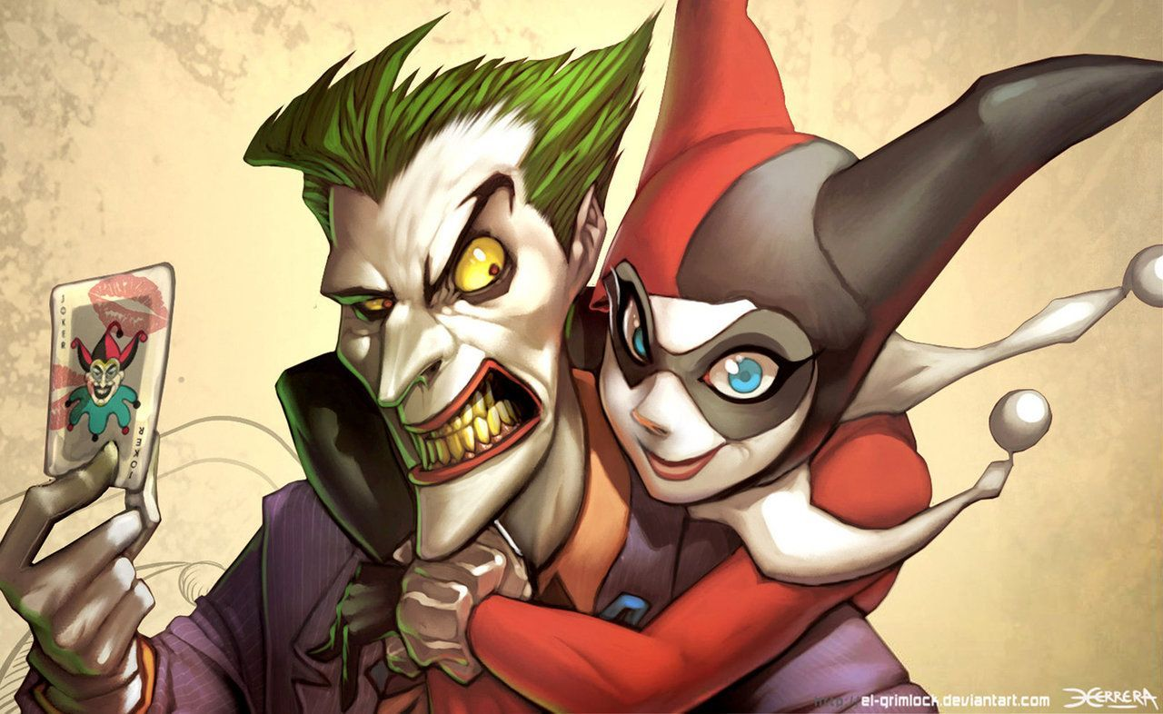 Joker And Harley Quinn Wallpapers - Wallpaper Cave