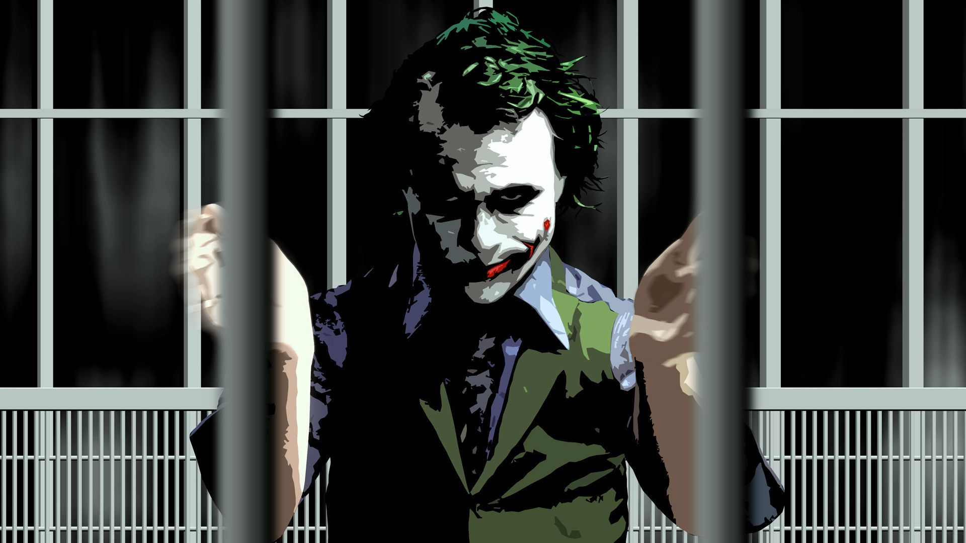 Joker The Dark Knight Wallpapers - Wallpaper Cave