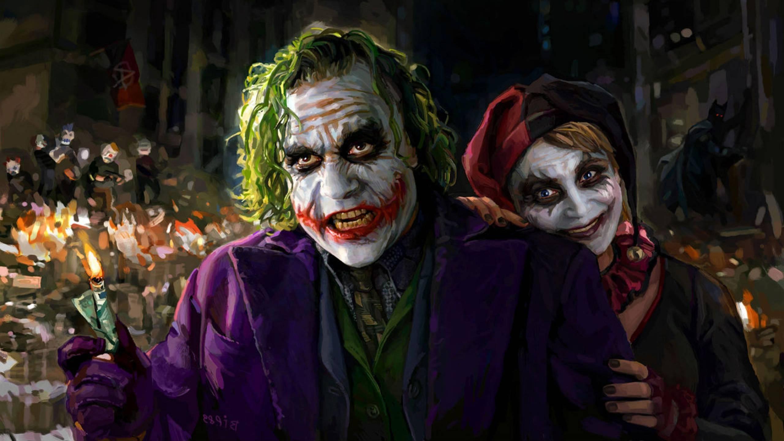 Joker harley quinn wallpaper