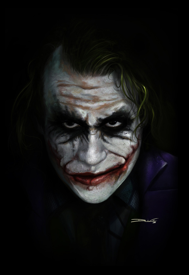 The Joker - by DanLuVisiArt on DeviantArt