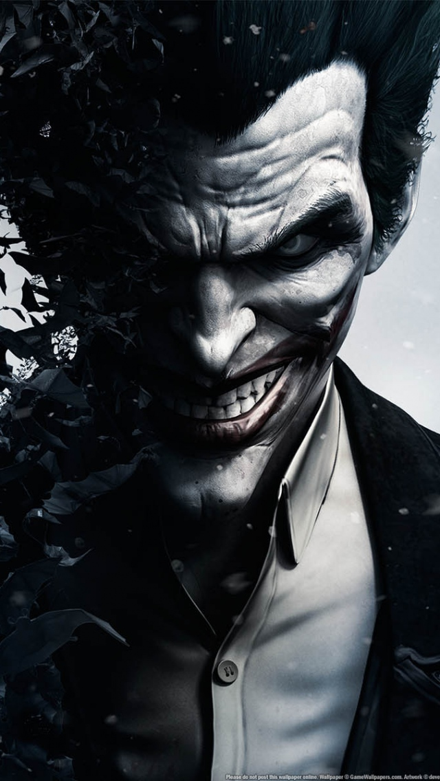IPhone 5S, 5C, 5 Joker Wallpapers HD, Desktop Backgrounds 640x1136