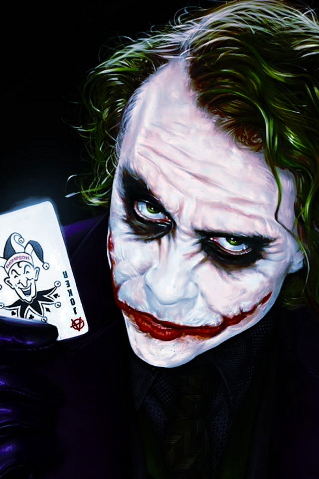HD iPhone Joker Wallpaper - WallpaperSafari