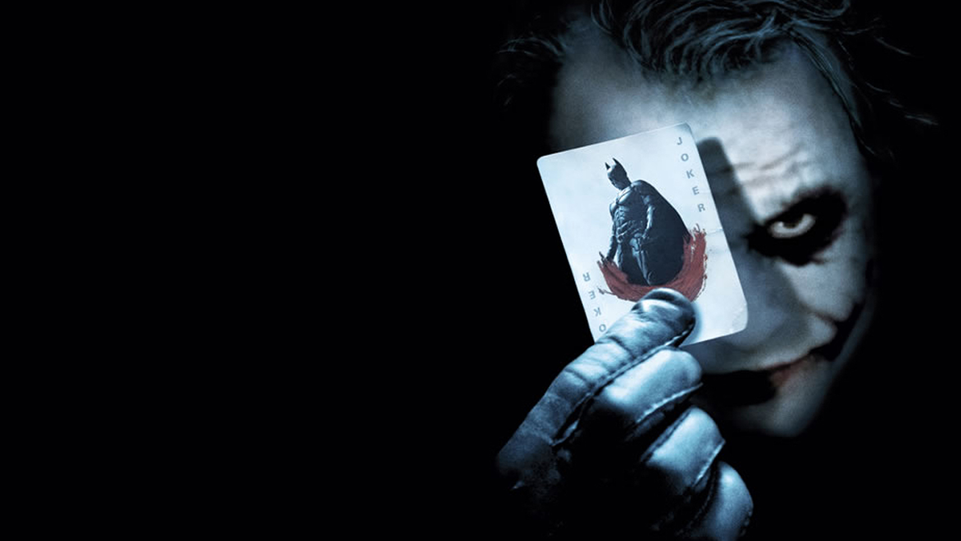 Joker Heath Ledger Why So Serious - wallpaper