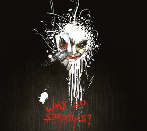 Download free Sony Ericsson XPERIA X10 why so serious wallpapers