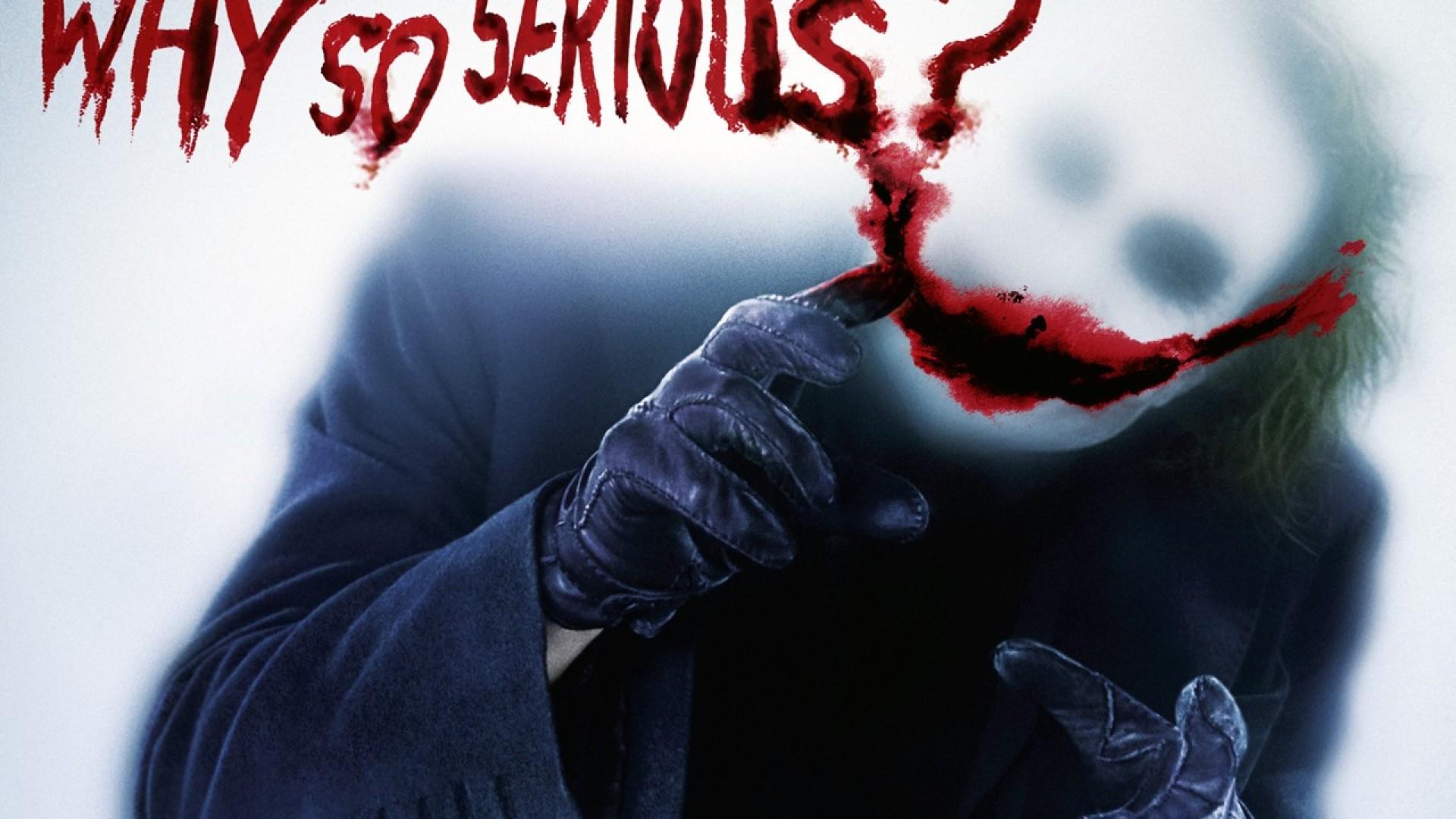 Joker Why So Serious Wallpapers Widescreen Sdeerwallpaper