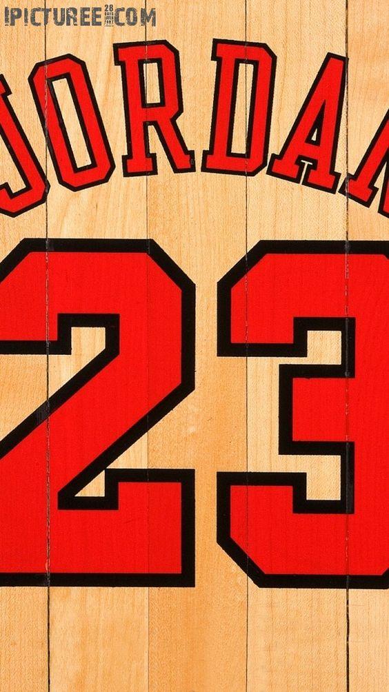 Download Michael Jordan Chicago Bulls Number 23 IPhone 6 HD