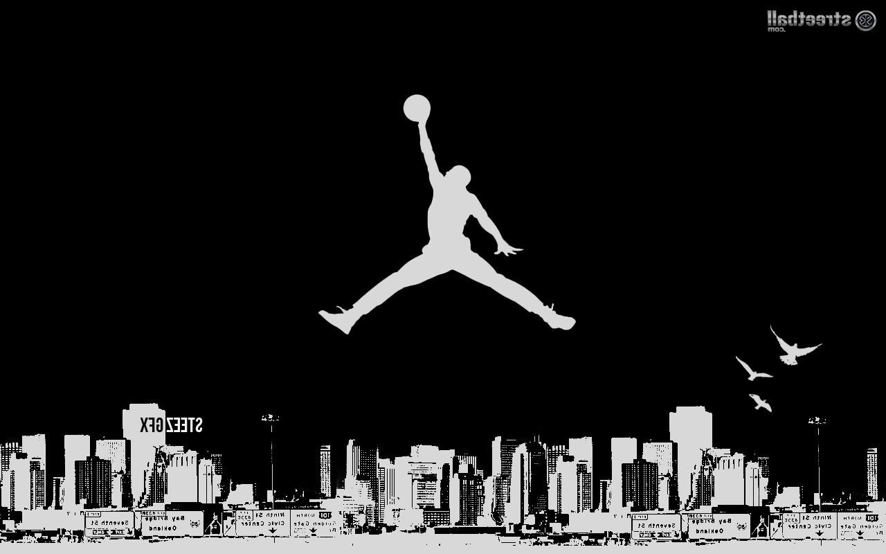 Michael Jordan Logo Wallpapers - Wallpaper Cave