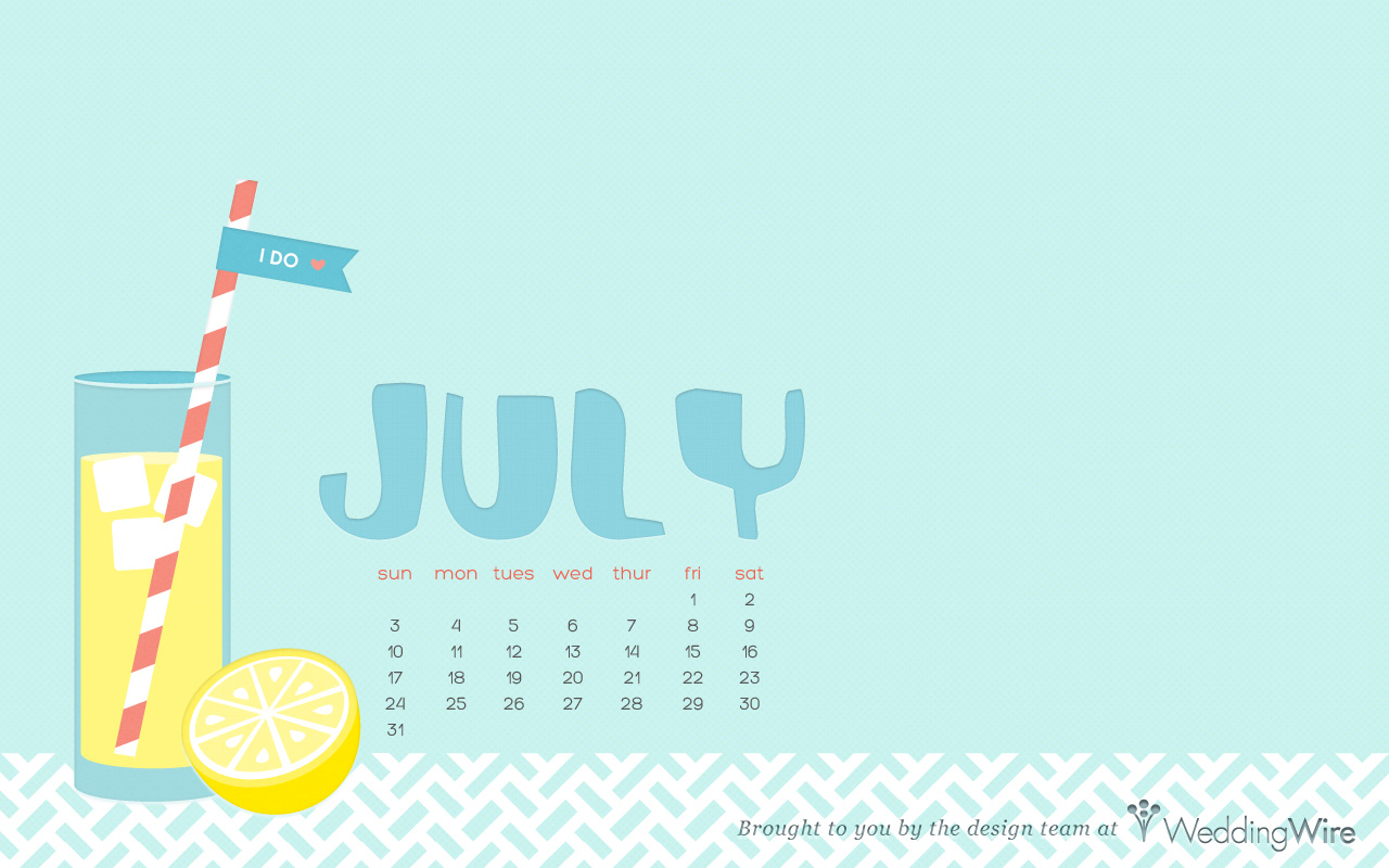 July Wallpaper Page 1