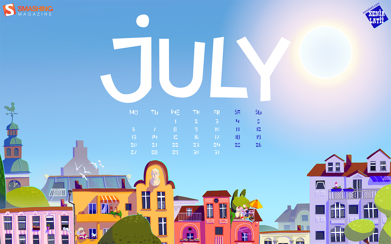 Desktop Wallpaper Calendars: July 2015 – Smashing Magazine