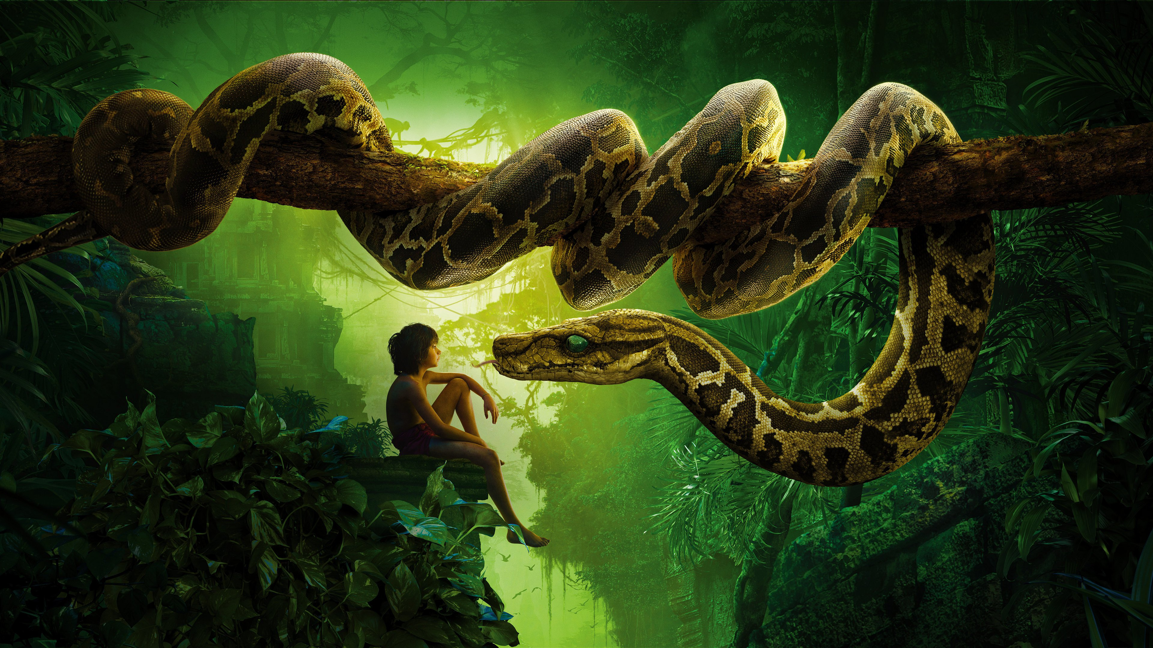 33 The Jungle Book (2016) HD Wallpapers | Backgrounds - Wallpaper