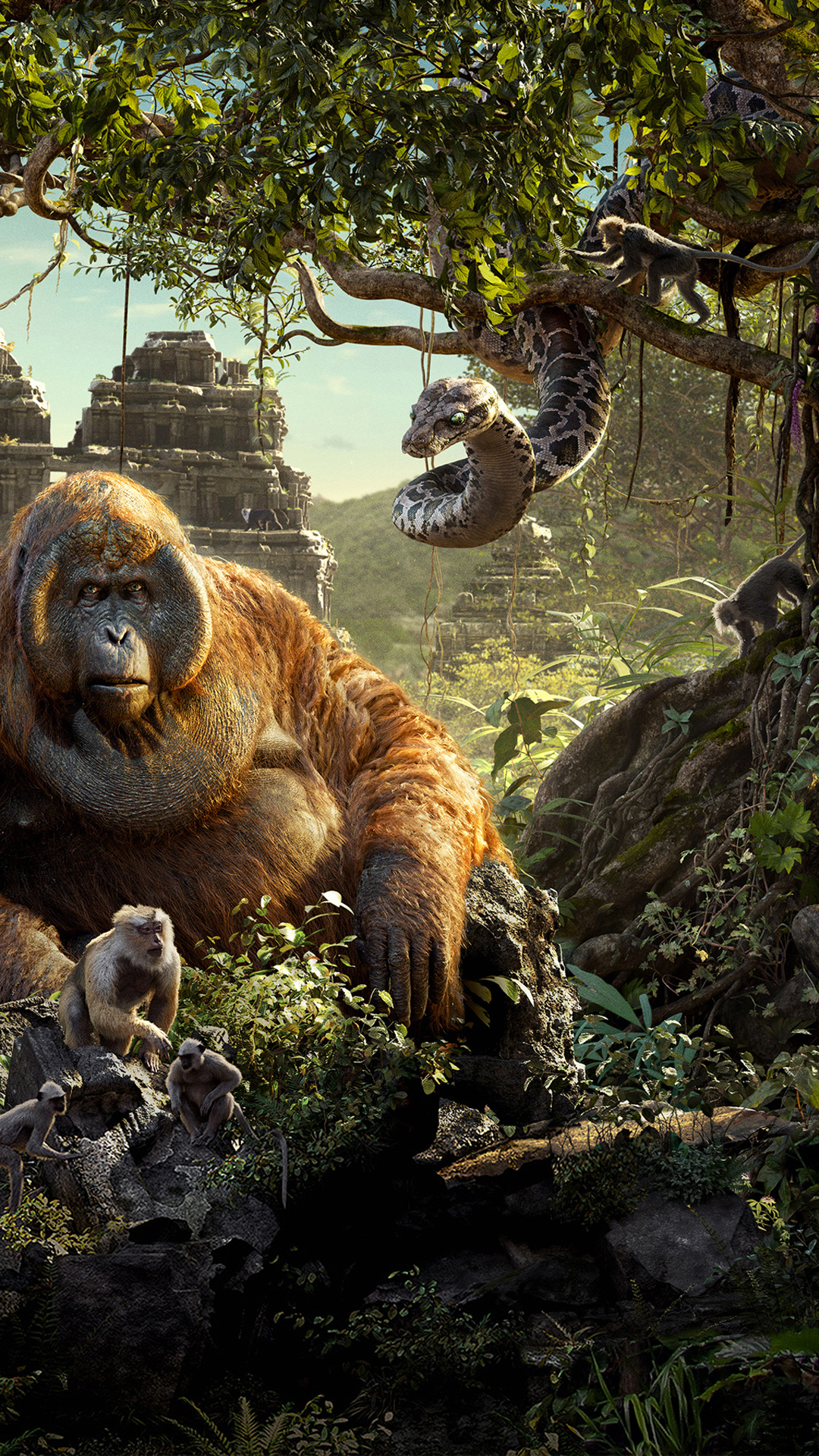 The Jungle Book 2016 Movie Wallpapers for iPhone - Apple Lives
