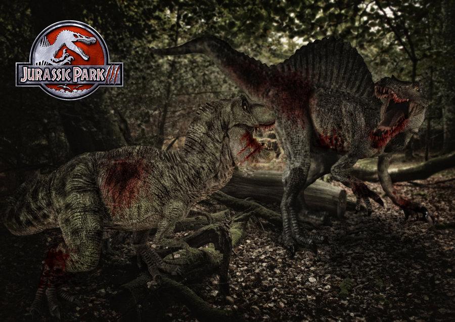 Jurassic Park 3 Spinosaurus - wallpaper