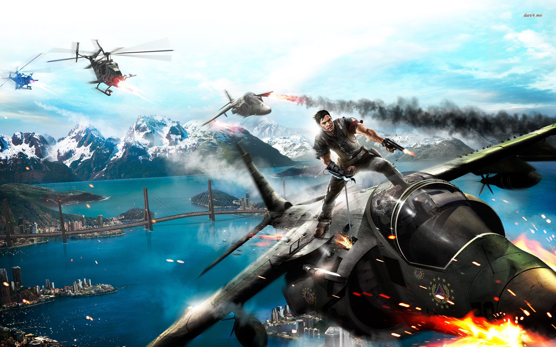 PC 14, Just Cause 2 Wallpapers, Just Cause 2 HD Pictures