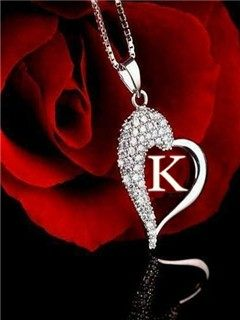 Download K Letter wallpapers to your cell phone - beautiful cute