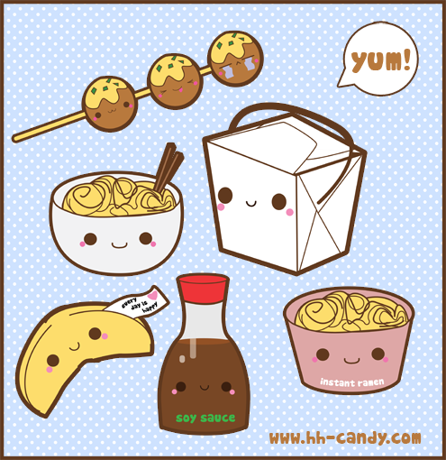 Kawaii Food 3 Images Wallpaper And Background Photos 32643023