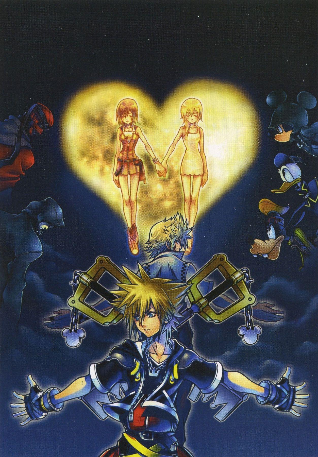 Kingdom Hearts Phone Wallpaper Sf Wallpaper
