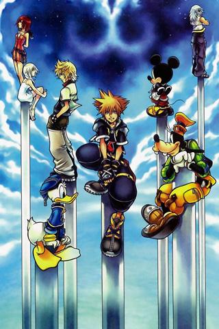 Kingdom Hearts Iphone Wallpaper Pattern Wwwpicswecom