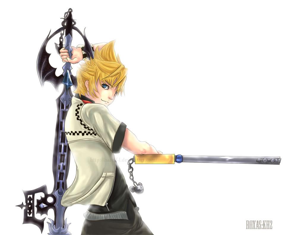 Keywords Kingdom Hearts Roxas Iphone Wallpaper And Tags