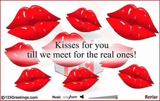 Cute Kiss Cards, Free Cute Kiss eCards, Greeting Cards | 123 Greetings
