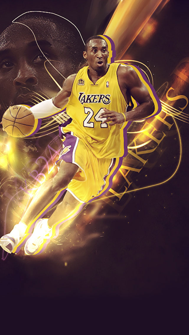 Kobe Bryant iPhone Wallpaper - WallpaperSafari