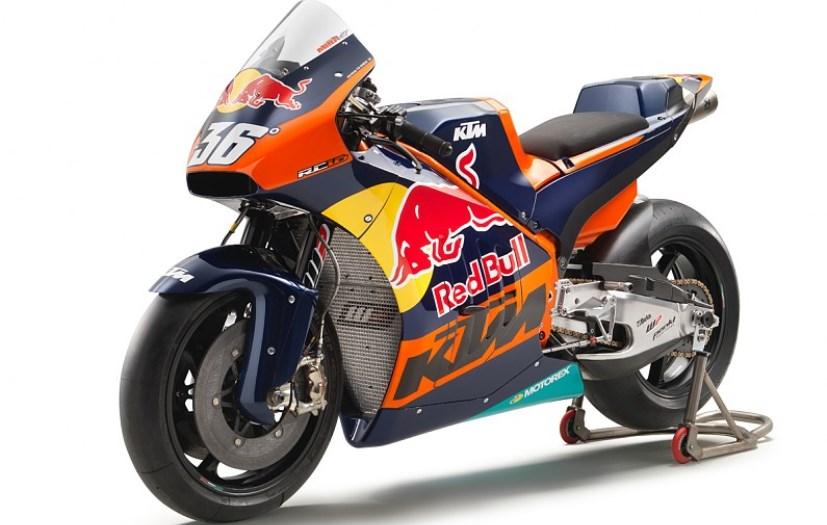 KTM Unveils The RC16 MotoGP Race Bike At Austrian GP - NDTV CarAndBike