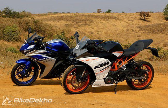 KTM Bikes Price (Starting ₹ 1 5 Lakh) - Duke 200, RC 200, RC 390