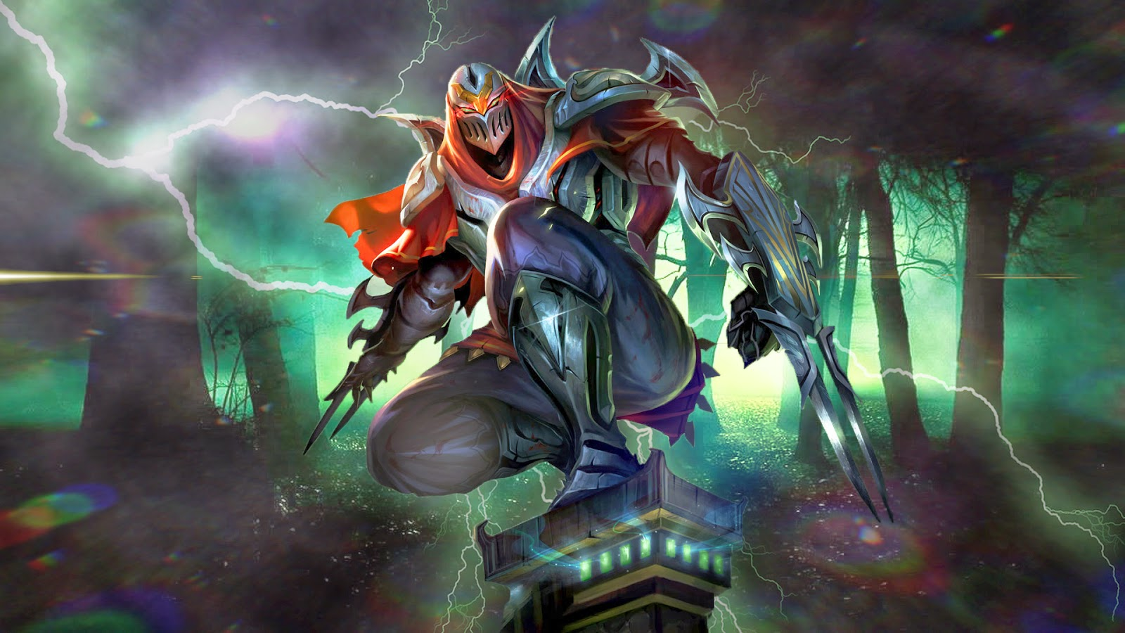 Zed League of Legends Wallpaper, Zed Desktop Wallpaper