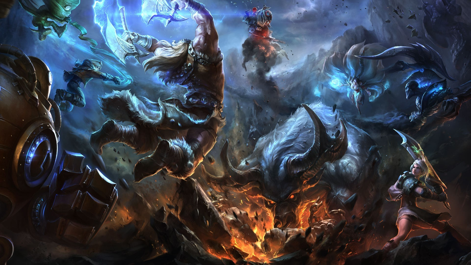 League of Legends Moving Wallpaper - WallpaperSafari