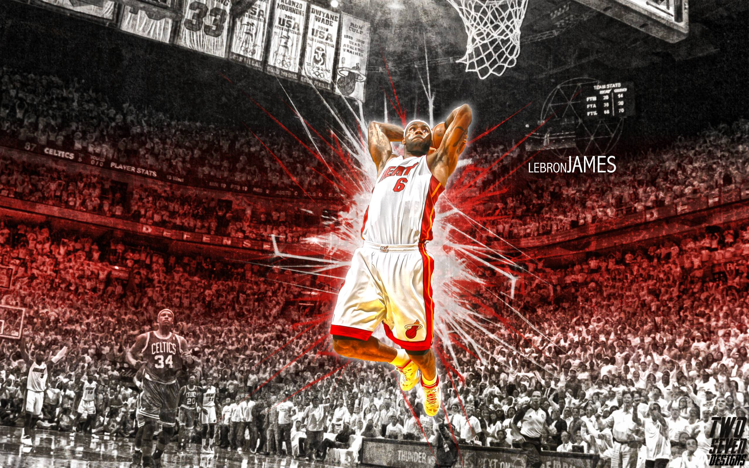 Lebron James Wallpapers Dunk 2015 - Wallpaper Cave
