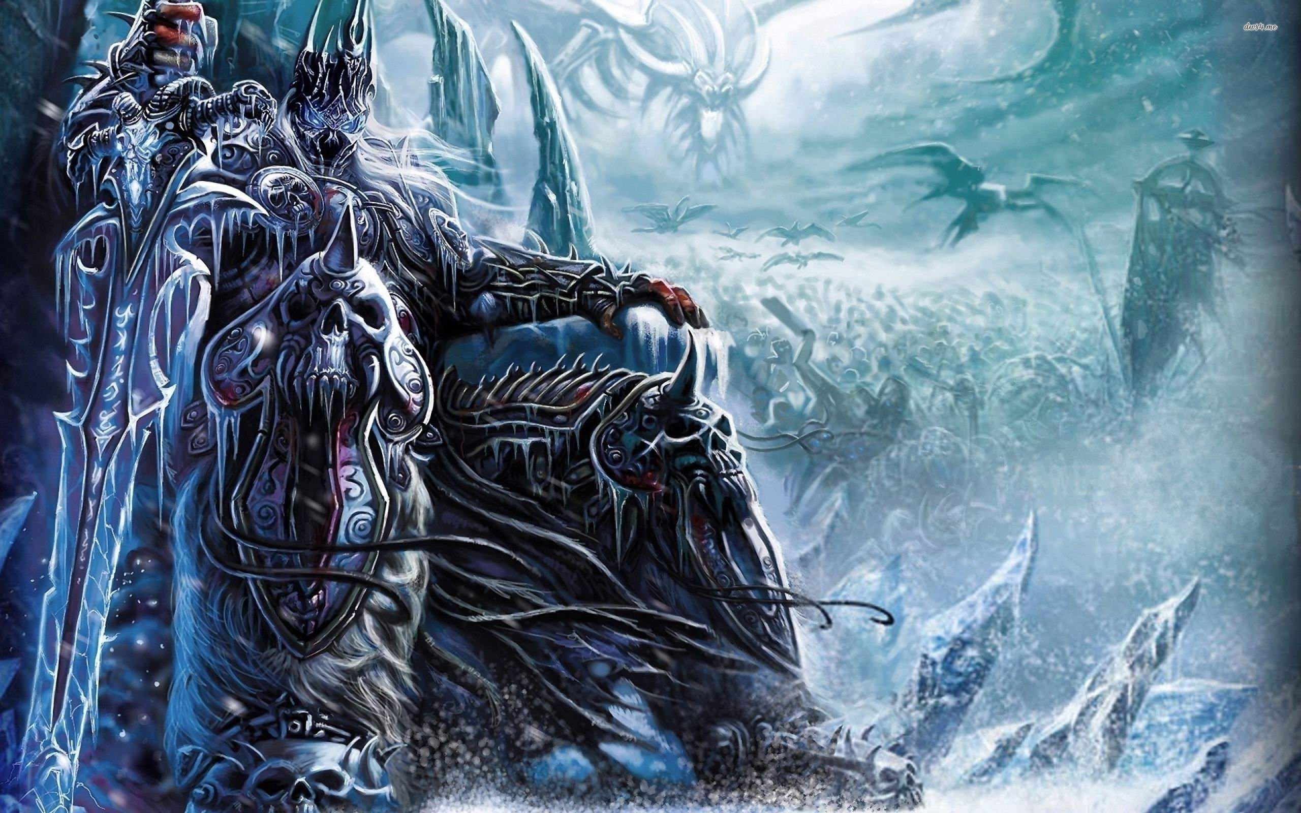 World Of Warcraft - Wrath Of The Lich King Wallpaper