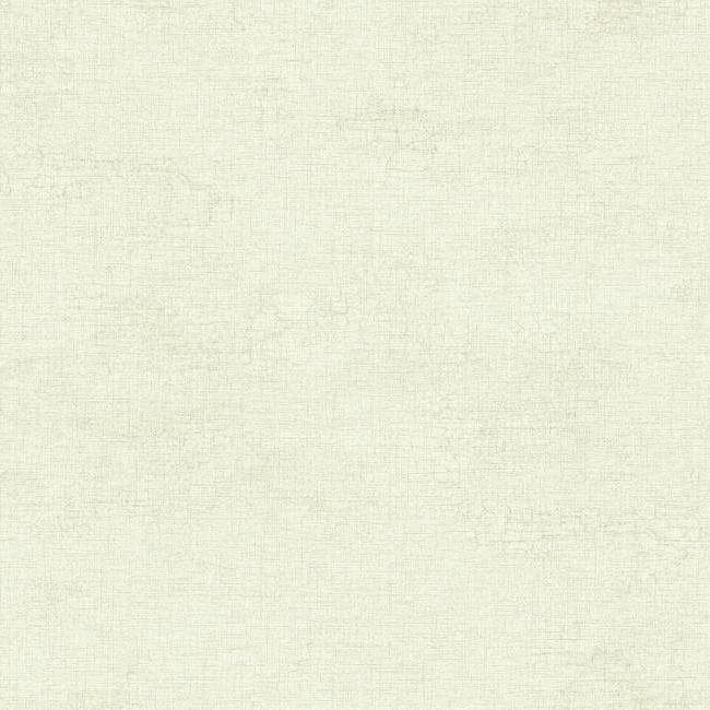 Raised Linen Texture Wallpaper in White design by York