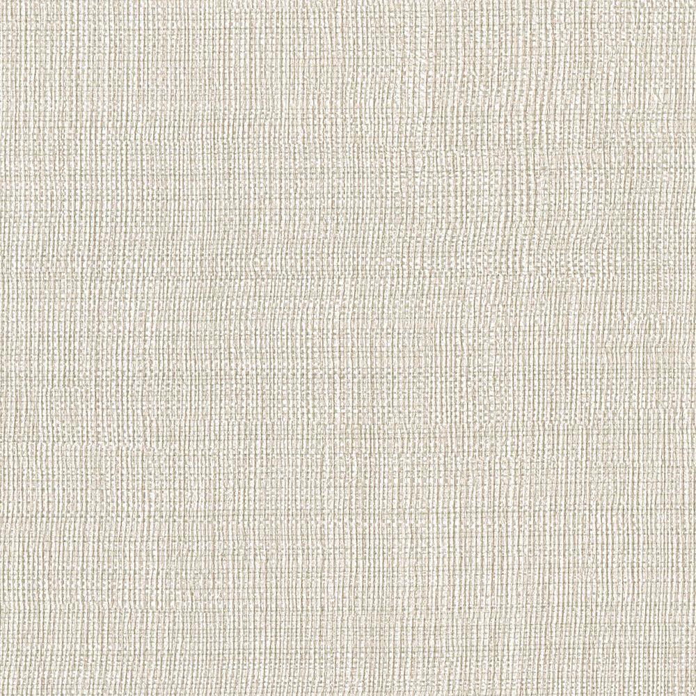 Brewster Beige Linen Texture Wallpaper Sample-3097-47SAM - The