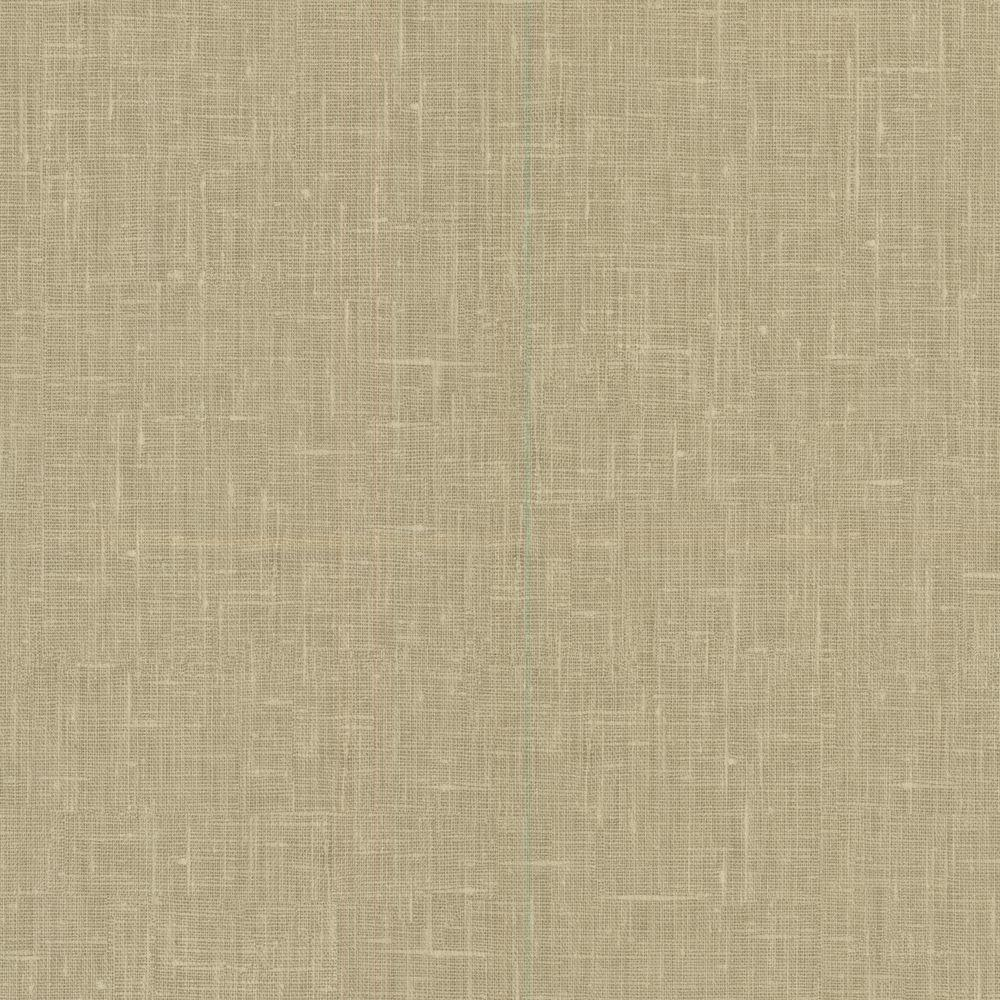 Beyond Basics Linge Brown Linen Texture Wallpaper-420-87092 - The