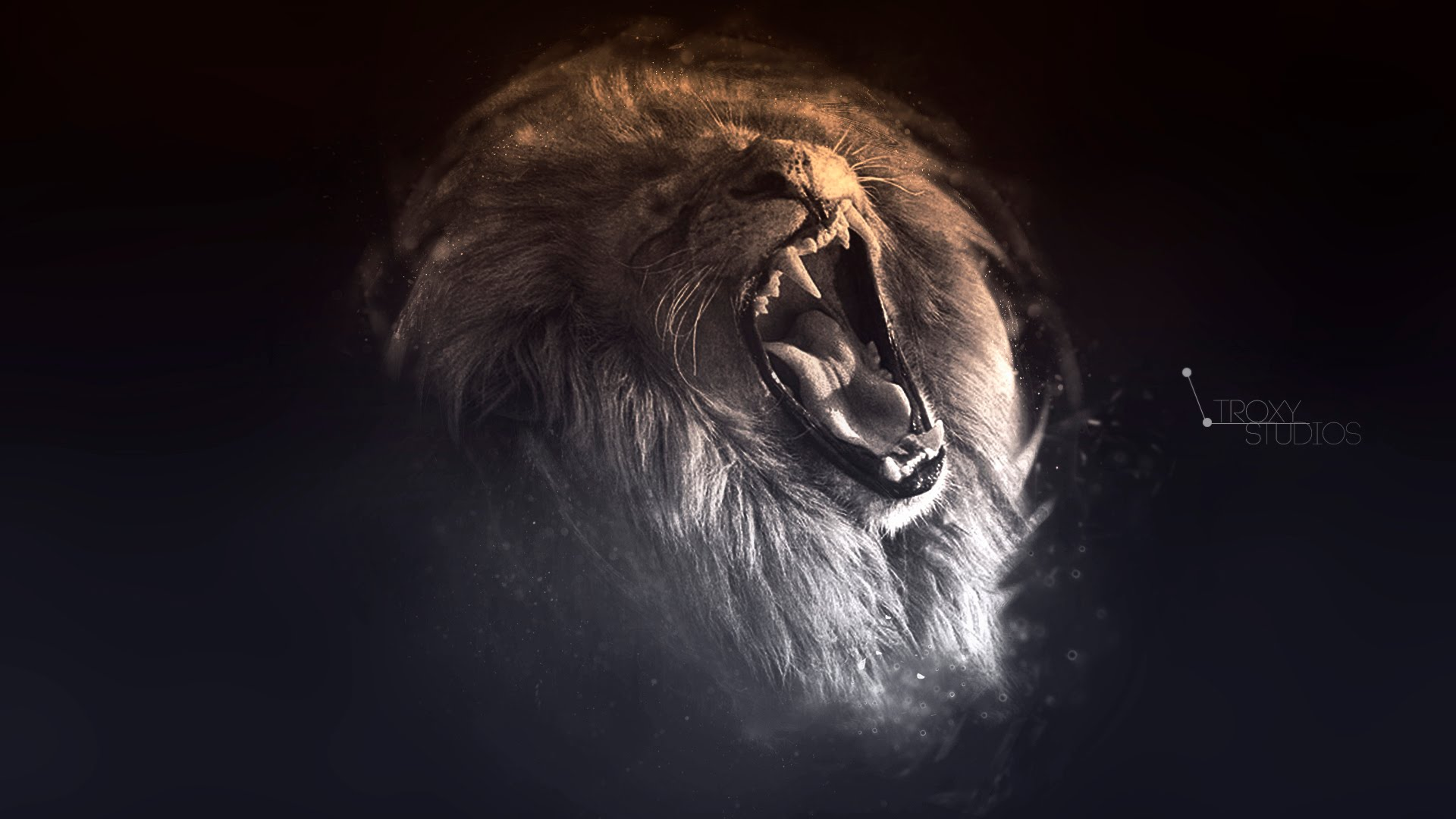 "Speed Art #7 Wallpaper ""Lion"" - YouTube"