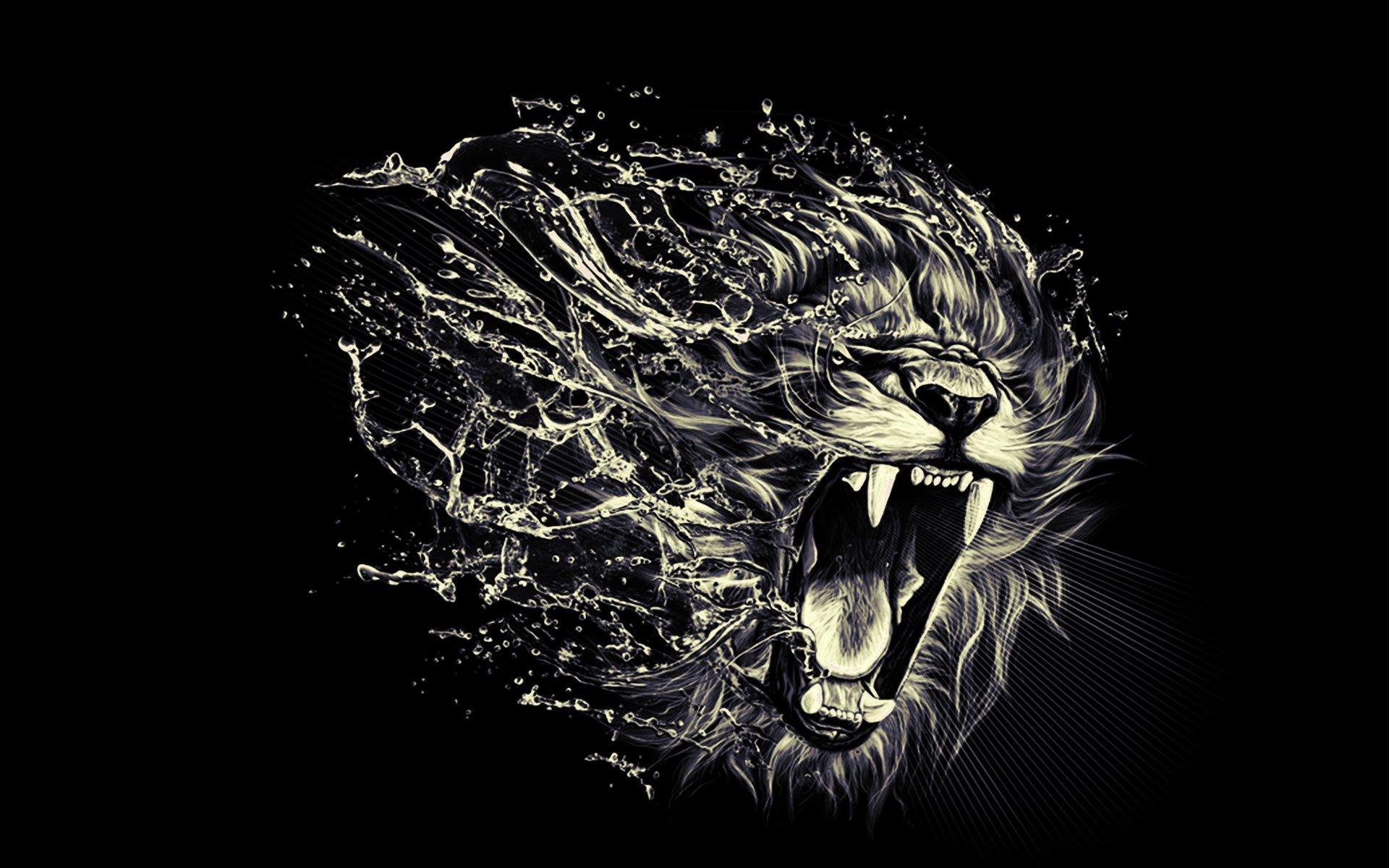 Roaring Lion Wallpaper - WallpaperSafari