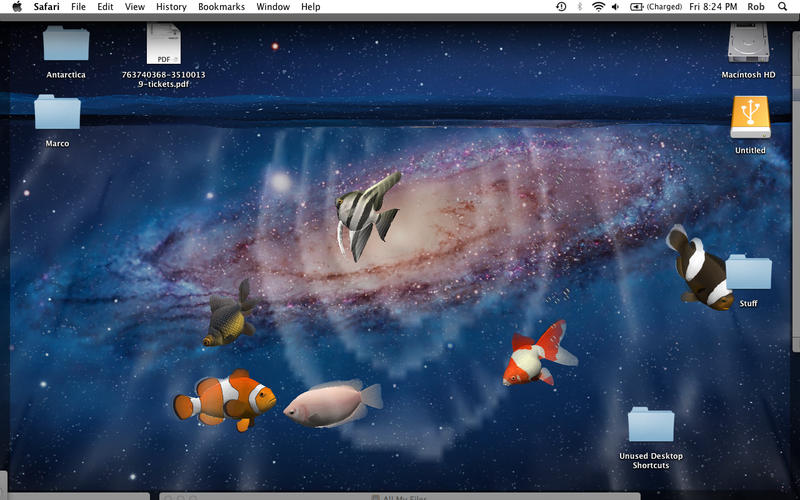 Desktop Aquarium 3D LIVE Wallpaper & ScreenSaver on the Mac App Store
