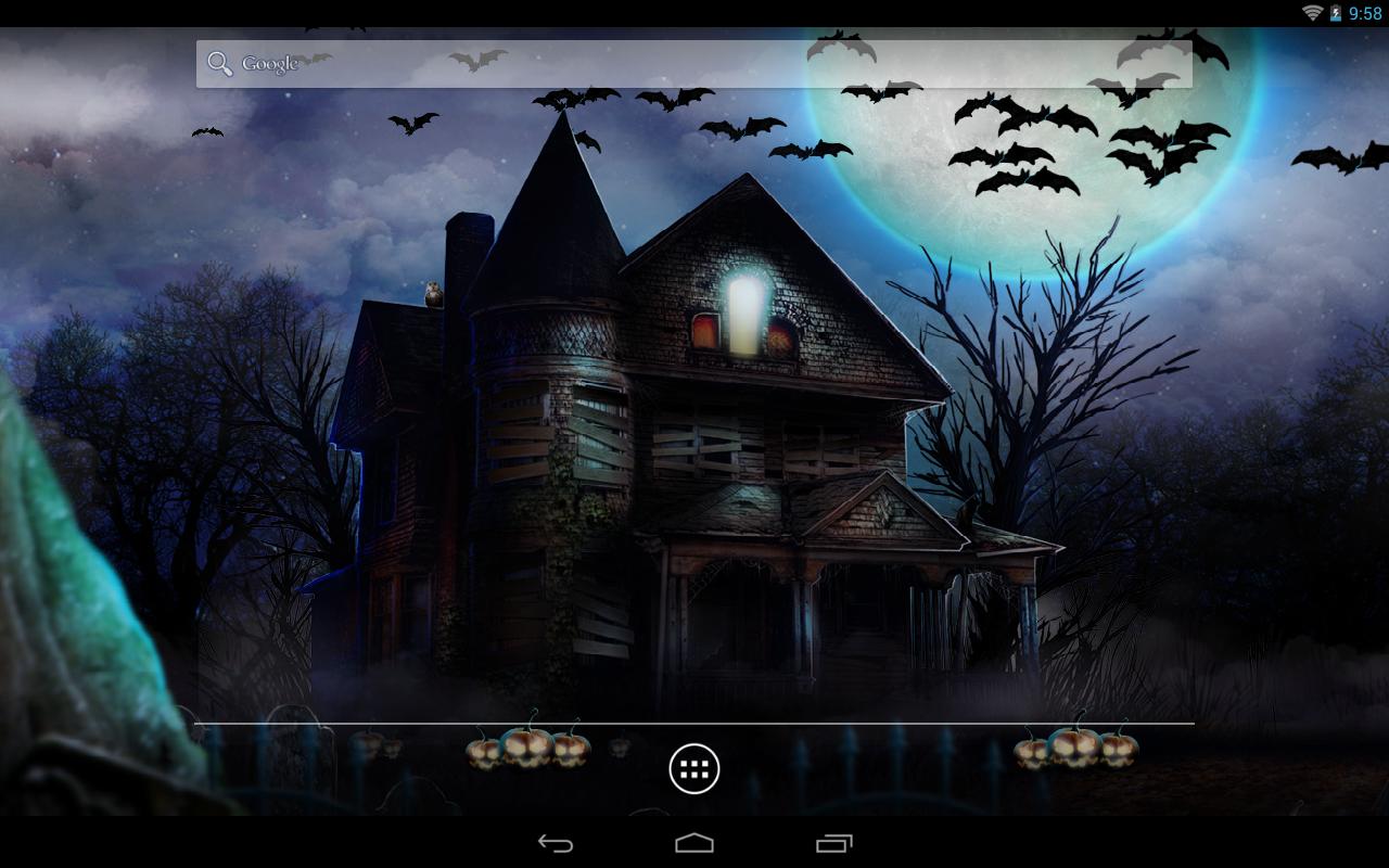 Live Halloween Wallpaper