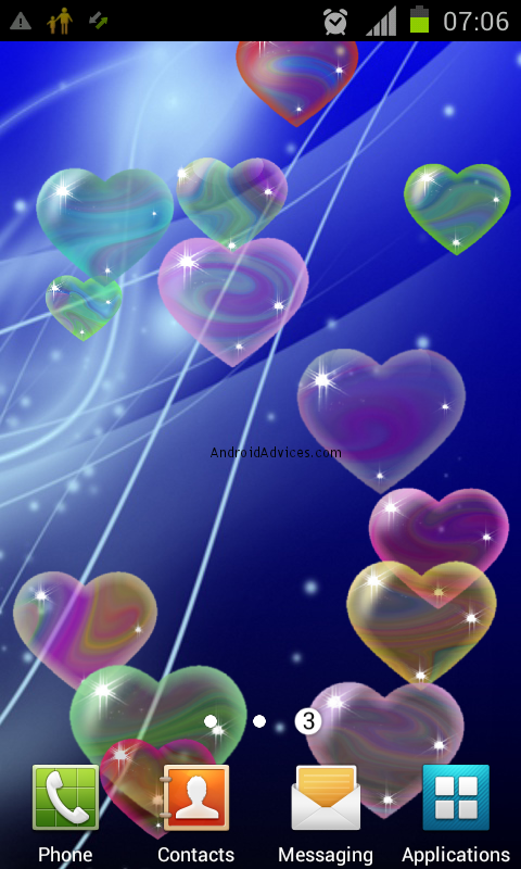 Best Valentine's Day Live Wallpapers for Android Mobile Phones