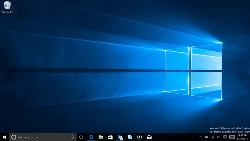 The Windows 10 wallpaper comes to life in Microsoft's new music