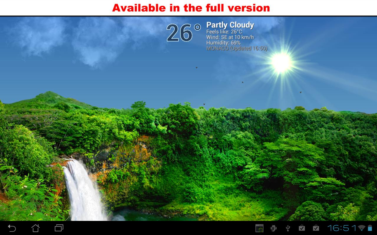 True Weather, Waterfalls FREE - Android Apps on Google Play