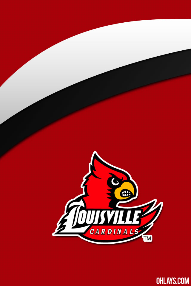 Louisville Cardinals iPhone Wallpaper | #5152 | ohLays